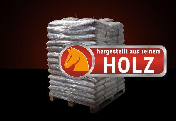 Palette: 960kg Holzpellets Standard als Pferde-/ Tiereinstreu 6mm inkl. Versand