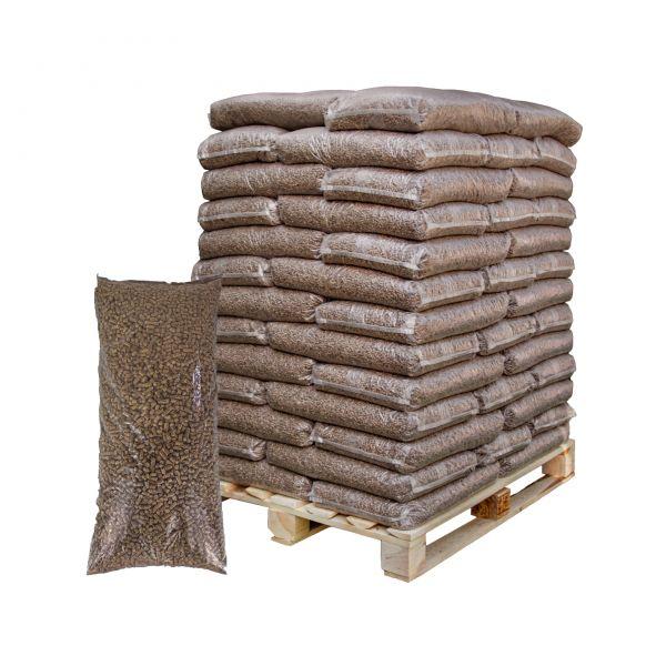 Pferdeeinstreu - Leinstroh Pellets   auf 726 kg Palette   inkl. Versand