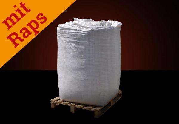 Strohpellets mit 50 % Rapsanteil Tiereinstreu | BigBag 1.000 kg Palette |