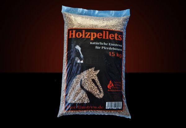 Palette: 960kg HOLZ-Pellets Standard als Pferde-/ Tiereinstreu 6mm inkl. Versand