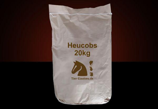 NEU! Im Papiersack: 20kg Heu-Cobs ab Lager