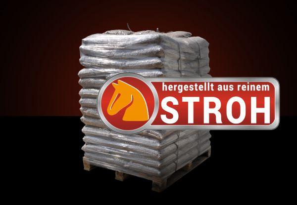 Palette: 960kg Stroh-Granulat für Fohlen, Alttiere, Geflügel, Kaninchen, Nagetiere inkl. Versand