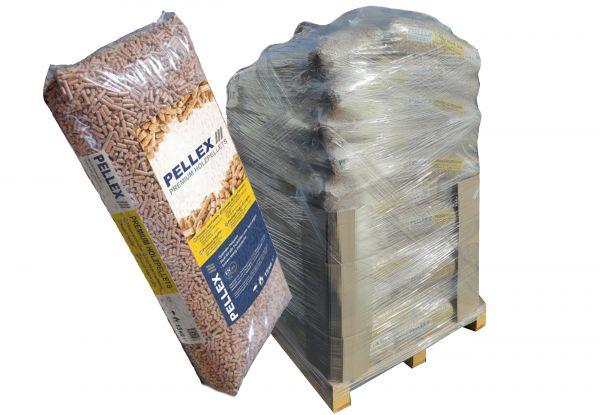 Premium-Holzpellets | 960 kg Palette (64 Säcke x 15 kg) als Pferdeeinstreu mit Lieferung