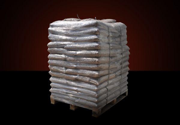 Strohpellets mit 50 % Rapsanteil als Pferdeeinstreu | 960 kg Palette | 15 kg Plastiksäcke