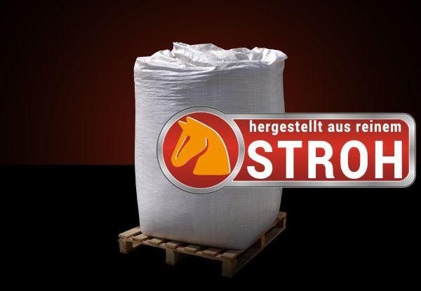 BigBag: 1000kg Stroh-Pellets im BigBag für Pferde und andere Huftiere ab Lager