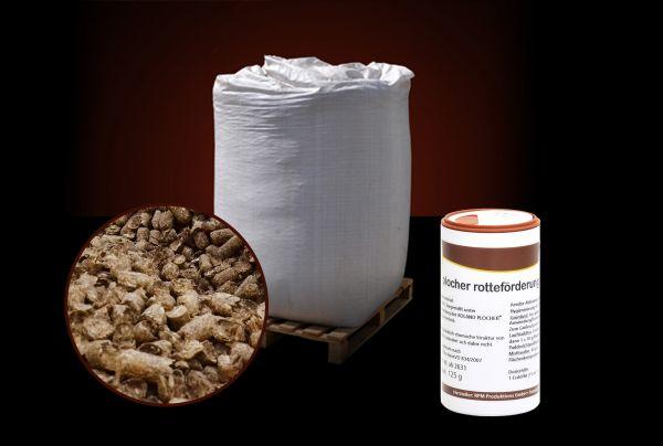 + GRATIS Rotteförderer/ BigBag: 1000kg STROH-Pellets für Pferde inkl. Versand