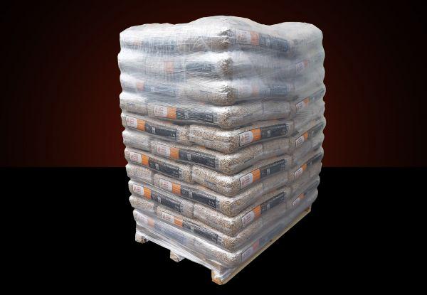Premium Holzpellets aus Nadelholz | Marke Naturbrennstoffe | 960 kg Palette (64 Säcke x 15 kg) als